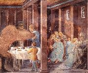 Scenes from the Life of St Francis (Scene 8, south wall) dh GOZZOLI, Benozzo